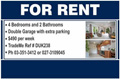 For Rent Sign - Pictorial